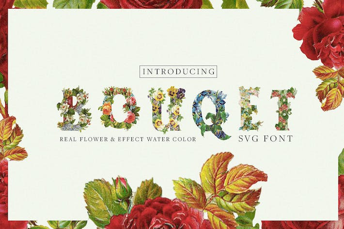 Thumbnail for Bouqet Flower & Watercolor