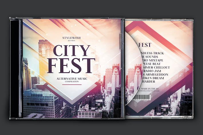 Cover Image For City Fest CD Cover Artwork