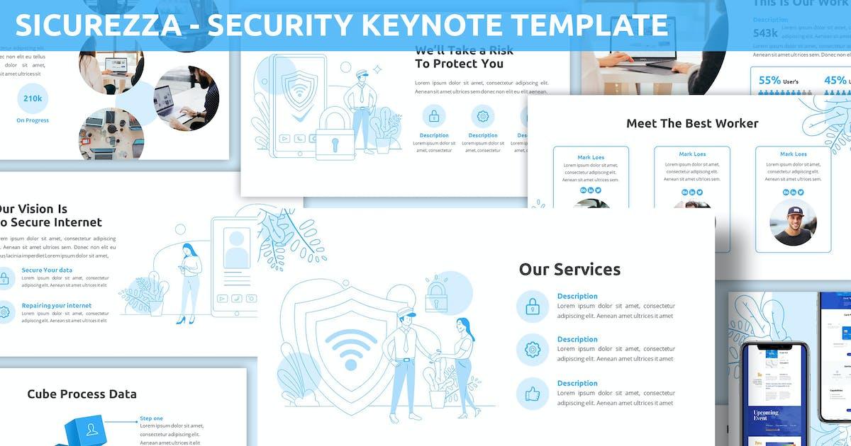 Download Sicurezza - Security Keynote Template by SlideFactory