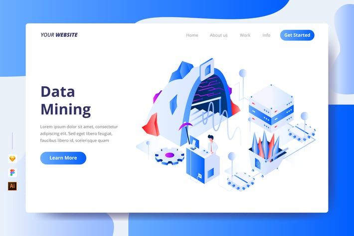 Cover Image For Data Mining - Landing Page