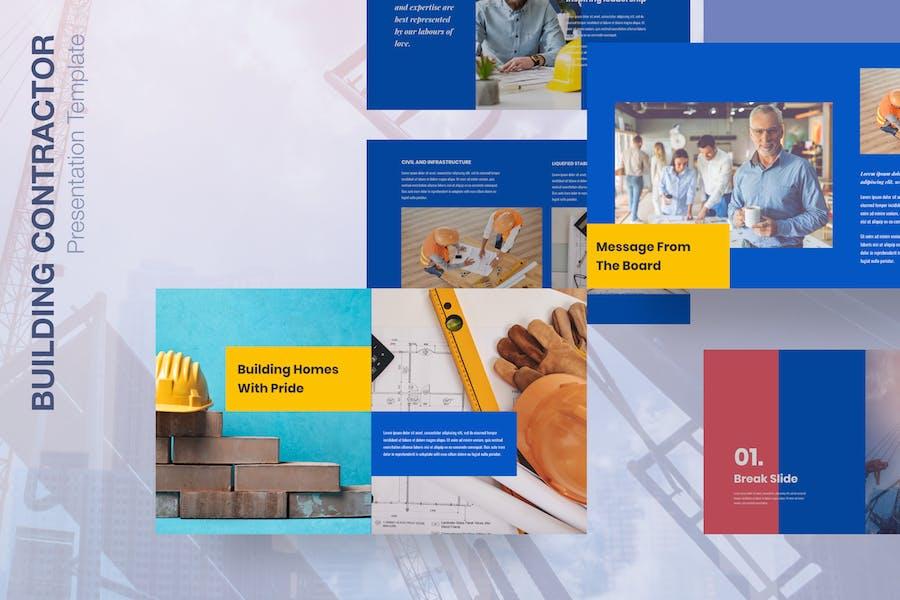 Builder - Building Contractor Presentation