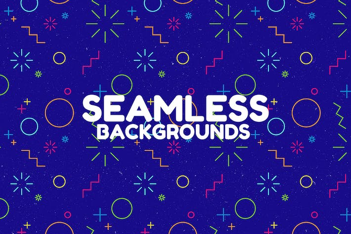 Cover Image For Noisy Seamless Abstract Backgrounds