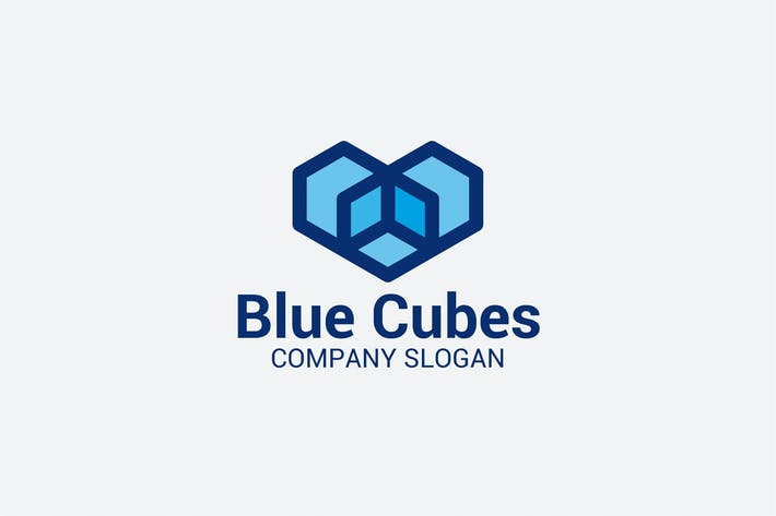 Thumbnail for Blue Cubes