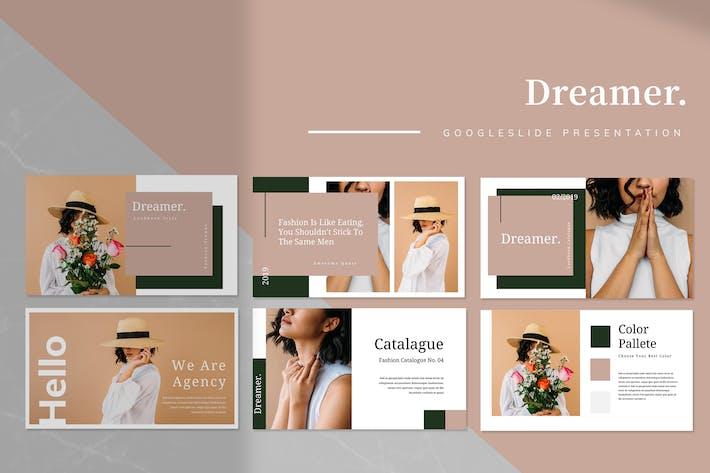Thumbnail for Dreamer - Google Slides Presentation