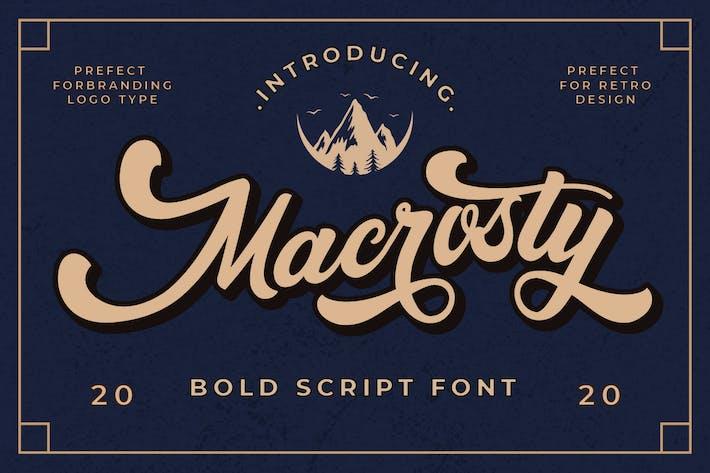 Macrosty - Жирный шрифт