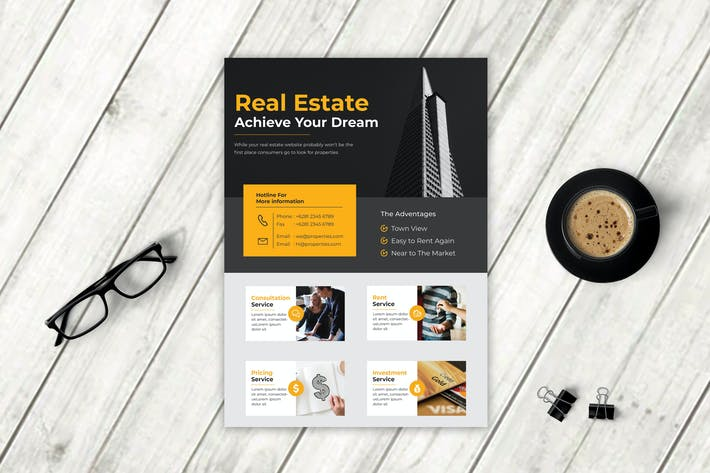 Thumbnail for Real Estate Flyer Vol. 4
