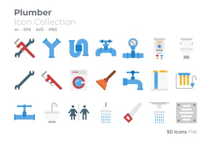 Plumber Color Icon