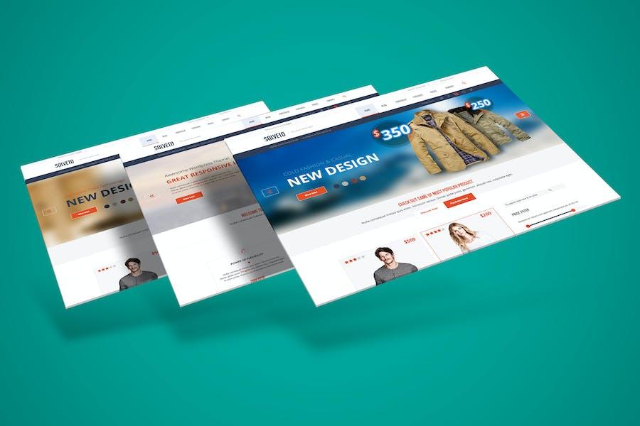 3D Web Presentation Mockup (V3)