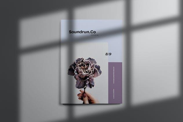 Soundrun - Brochure Template Indesign