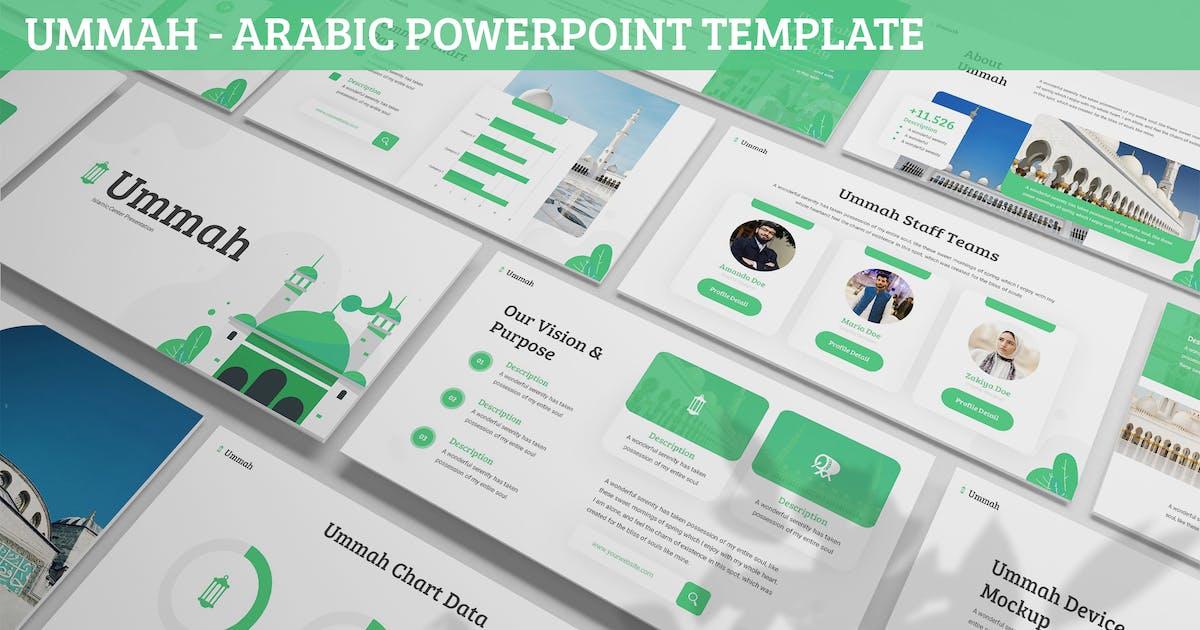 Download Ummah - Arabic Powerpoint Template by SlideFactory