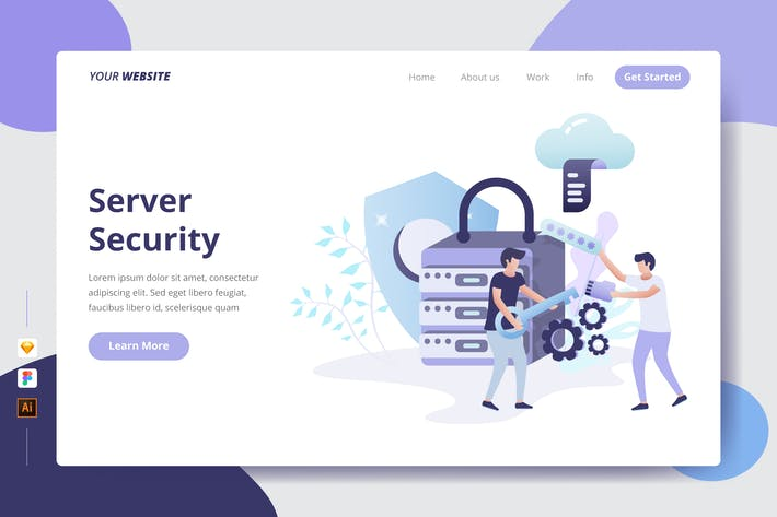 Thumbnail for Server Security - Landing Page