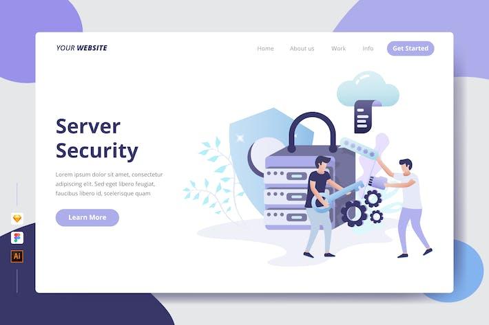 Serversicherheit — Zielseite