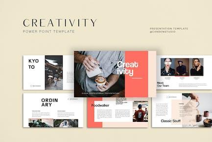 HQ - Creativity Presentation Templates