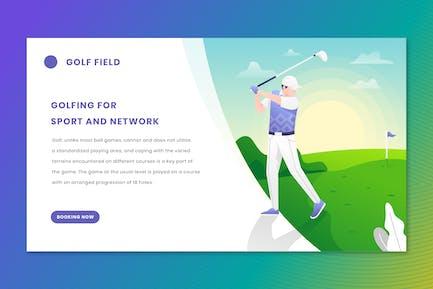 Golf - Web Header