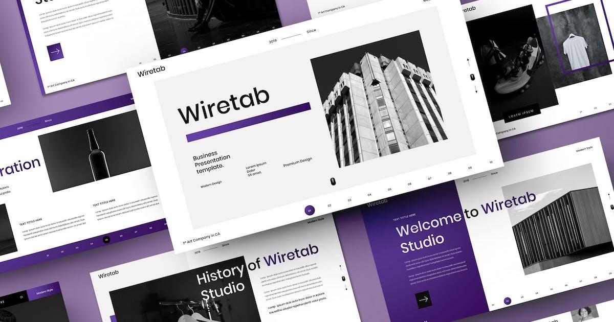 Download Wiretab – Business PowerPoint Template by DensCreativeStudio