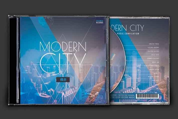 Thumbnail for Modern City CD Cover Artwork