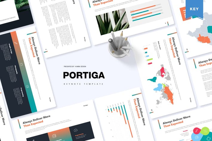 Thumbnail for Portiga | Keynote Template