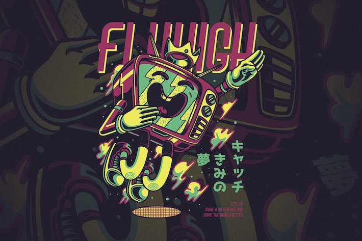 Cover Image For Fly High