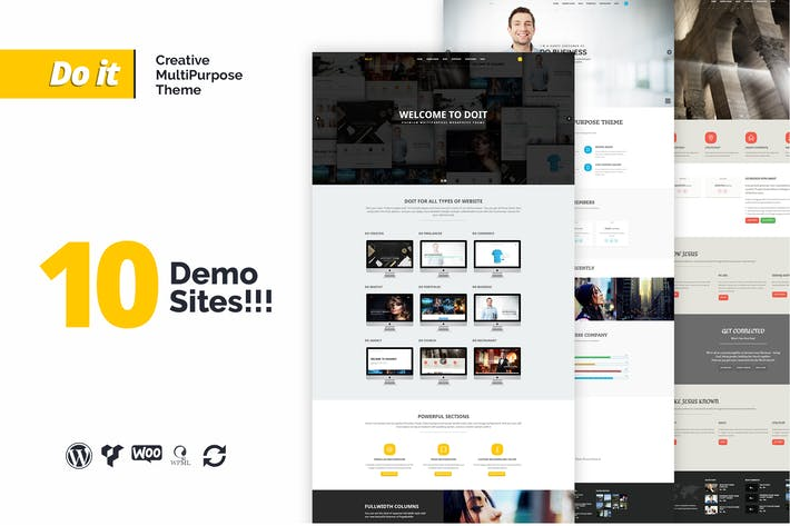 Thumbnail for DOIT - Creative Agency MultiPurpose Theme