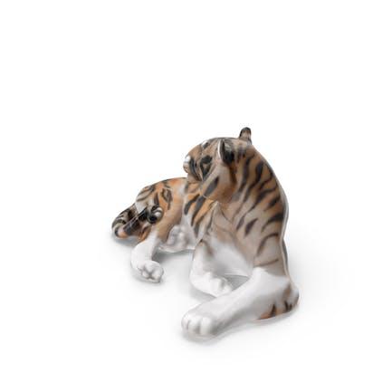 Keramischer Tiger