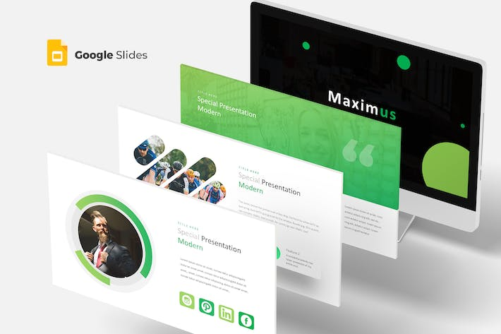Cover Image For Maximus - Google Slides Template