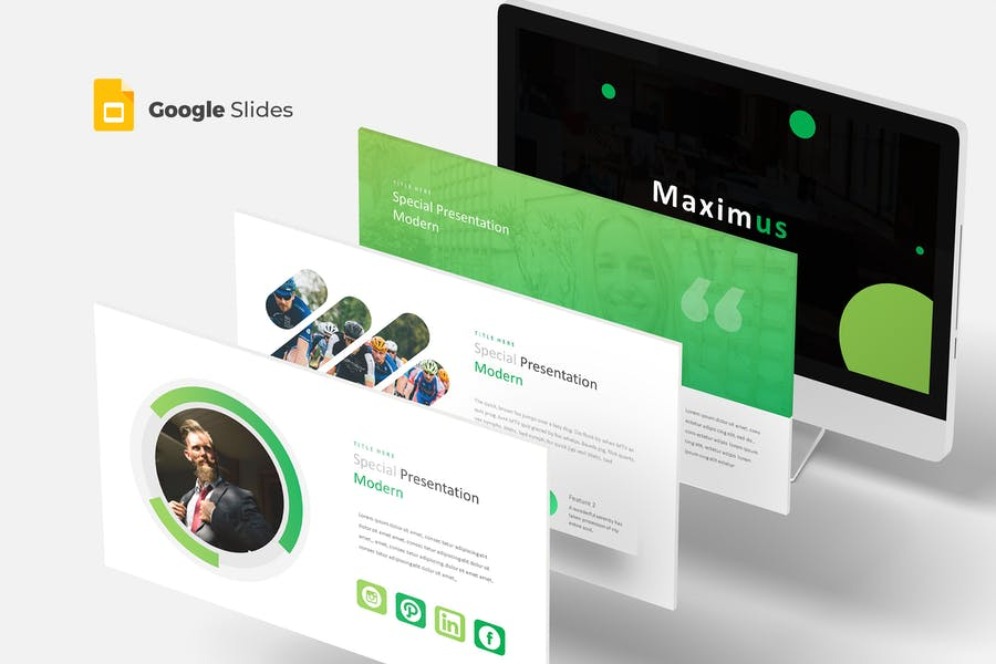 Maximus - Google Slides Template