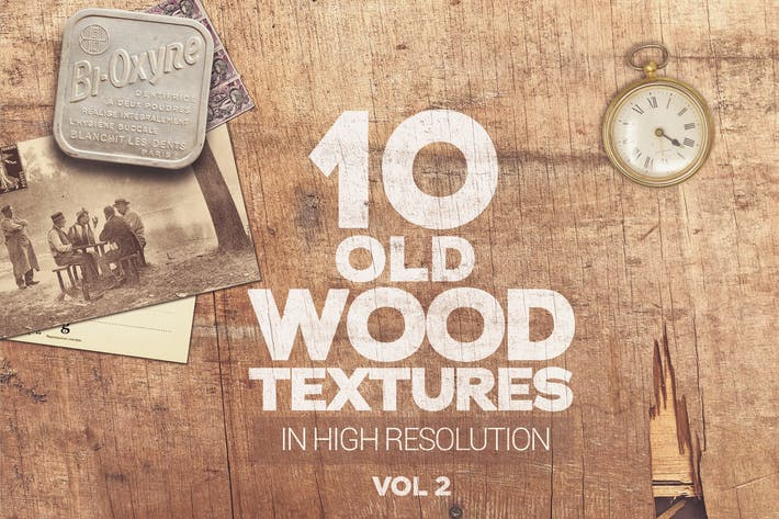 Thumbnail for Old Wood Textures x10 vol2