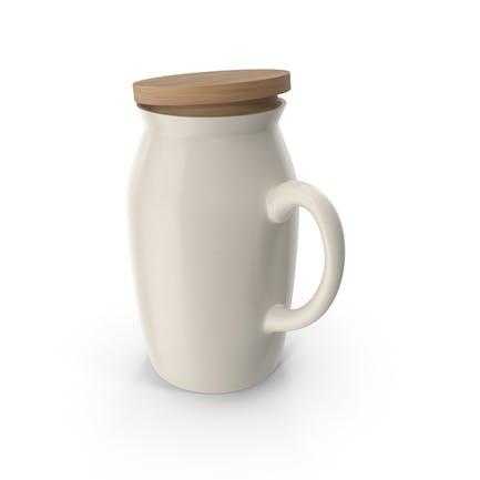 Jarra de leche