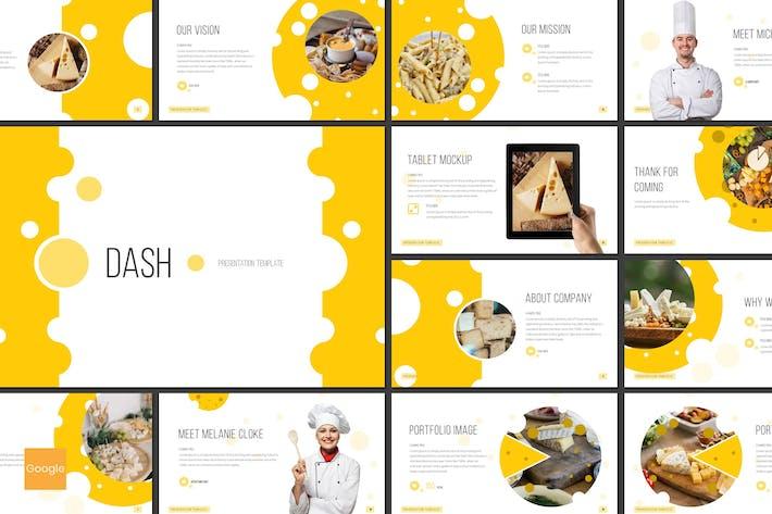 Thumbnail for Dash - Restaurant Google Slides Template
