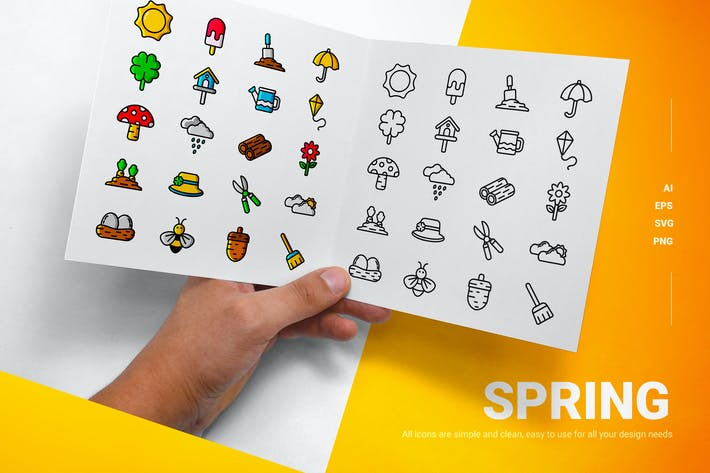 Spring - Icons