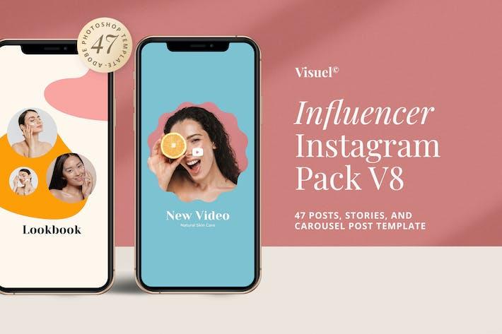 Thumbnail for Influencer Social Media Kit v.8