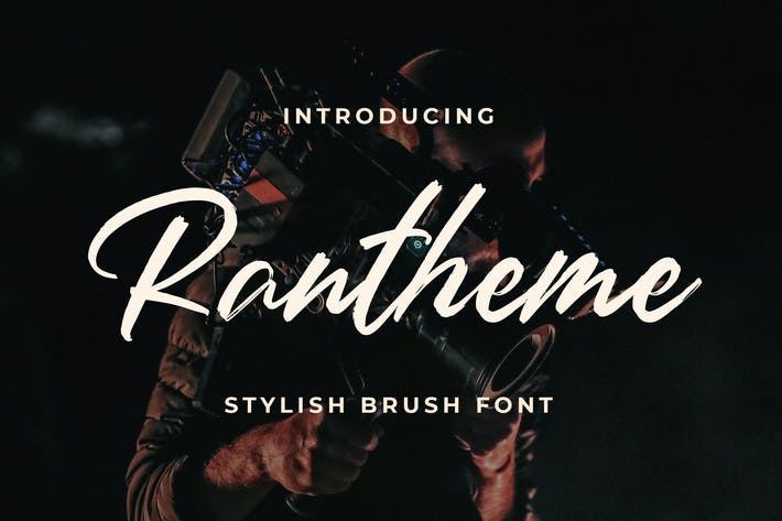 Thumbnail for Rantheme - Stylish Brush Font