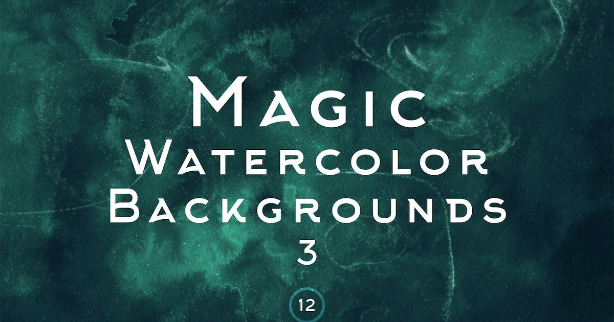 Download Magic Watercolor Backgrounds 3 by FreezeronMedia