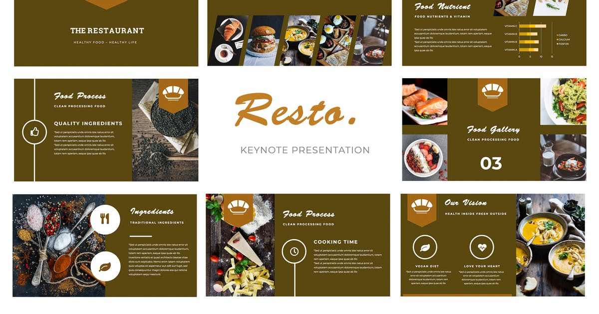 Download Resto Keynote Presentation by TMint