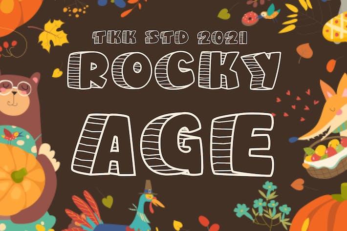Rocky Age - Fuente para niños