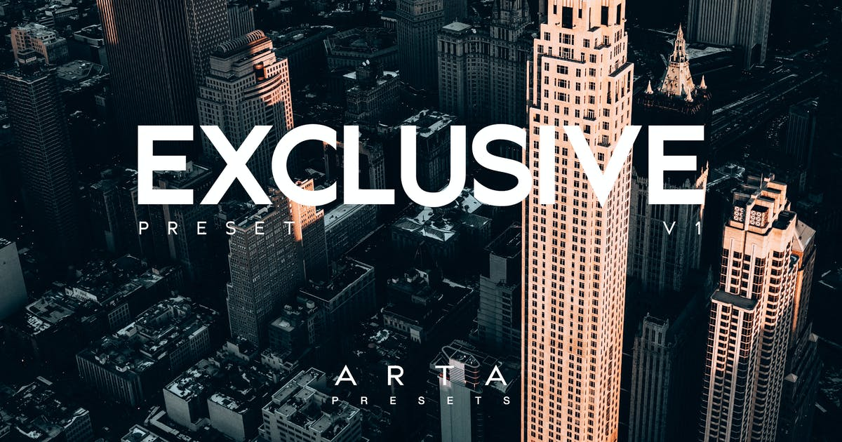 Download ARTA Exclusive Preset For Mobile and Desktop by artapresets