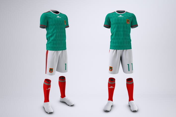 Thumbnail for Soccer or Football Uniform Mock-Up