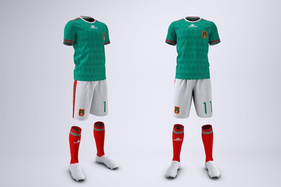 Soccer or Football Uniform Mock-Up