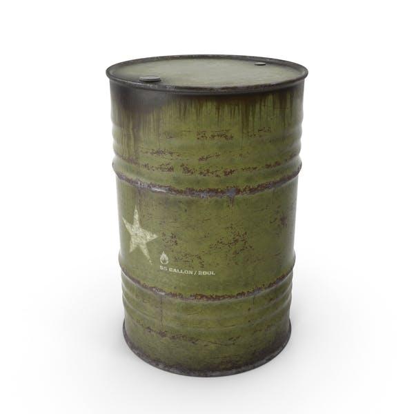 Army de barril de acero
