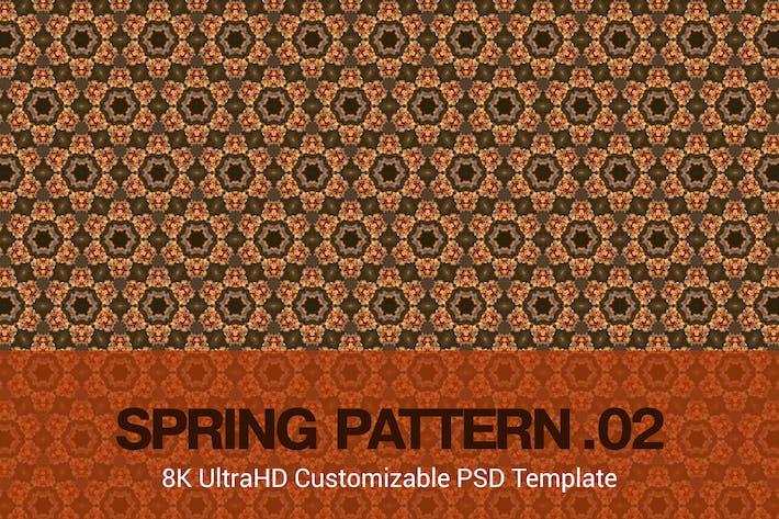 Thumbnail for 8K UltraHD Custom Seamless Spring Pattern Backgrou