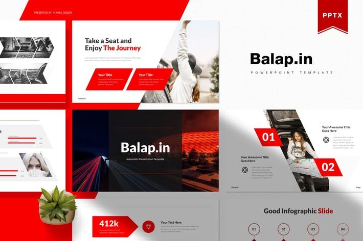 Thumbnail for Balapin| Powerpoint Template
