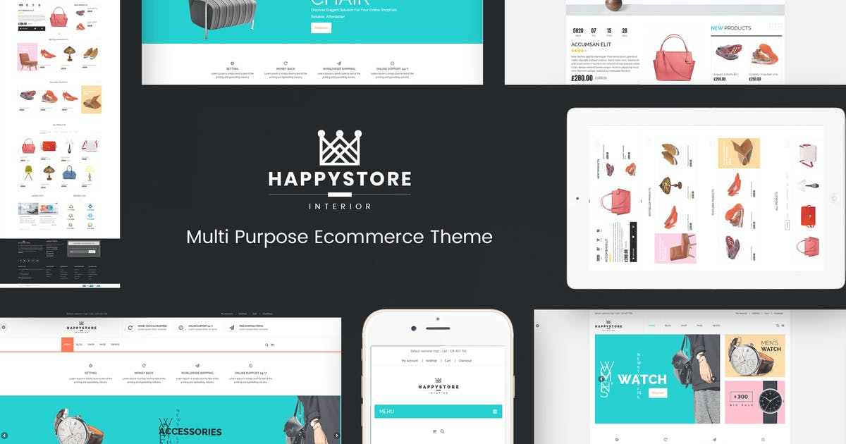 Download HappyStore - WordPress WooCommerce Theme by roadthemes