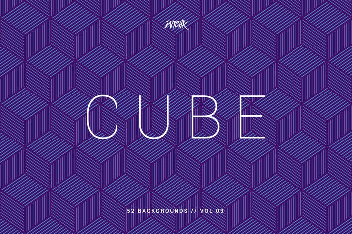 Thumbnail for Cube | Seamless Geometric Backgrounds | Vol. 03
