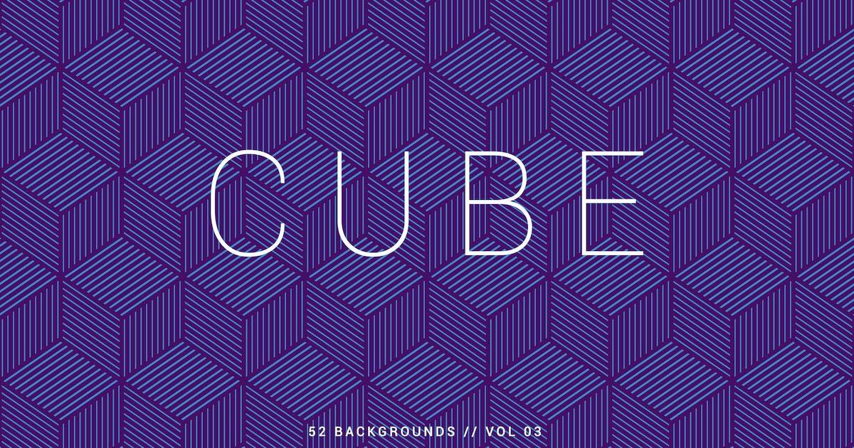 Download Cube | Seamless Geometric Backgrounds | Vol. 03 by devotchkah