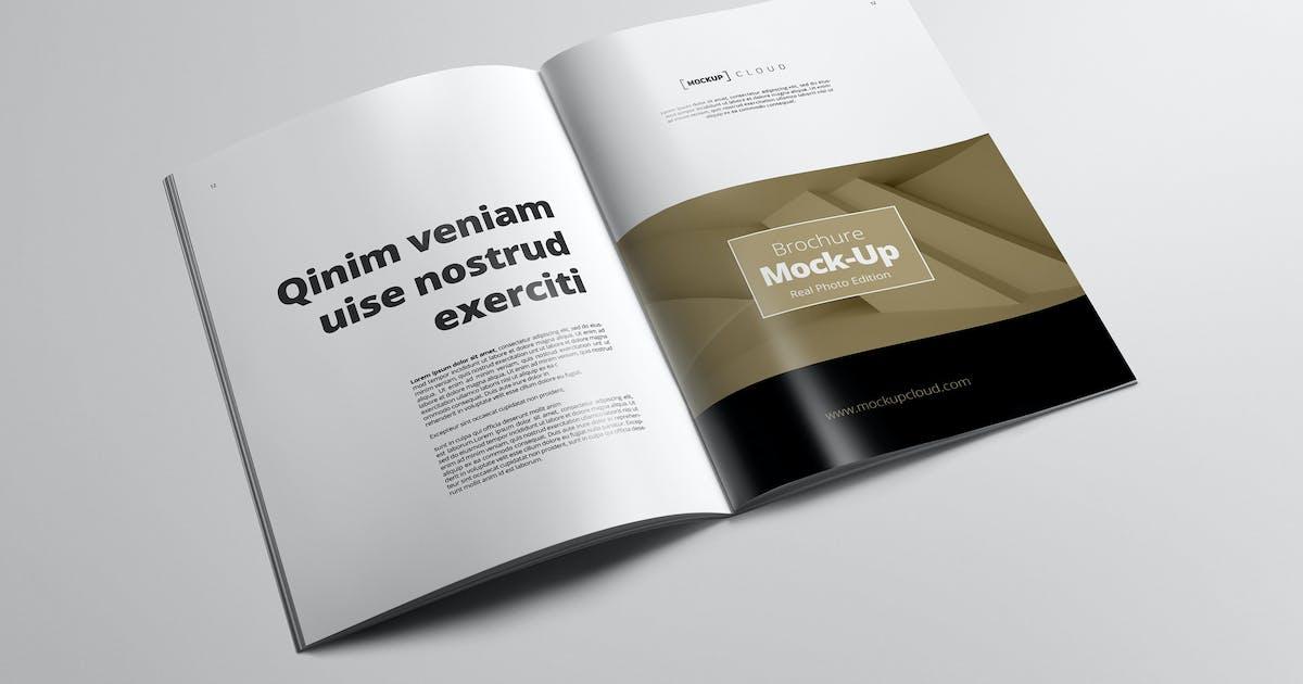 Download Portrait Brochure Mockup by Genetic96