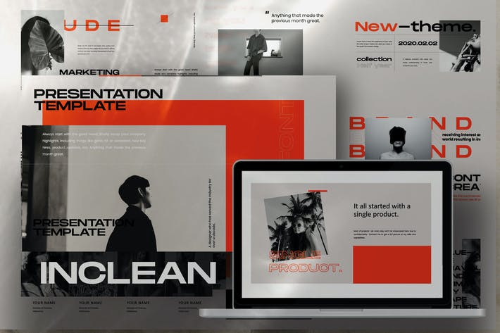 Thumbnail for INCLEAN - Modern Design Urban Keynote
