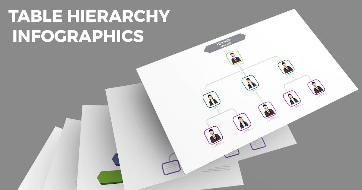 Download Table Hierarchy – Infographics Design by designesto