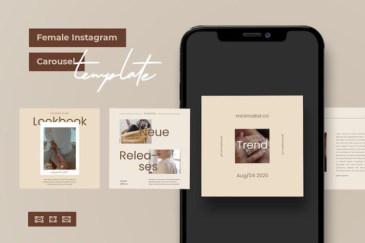 Das weibliche Instagram Karussell Kit V.04