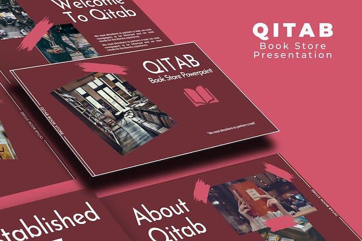 Thumbnail for Презентация основного доклада книжного магазина Qitab