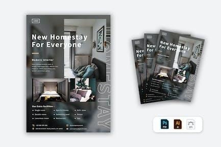 Homestay Flyer